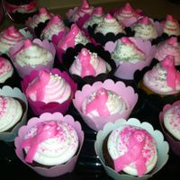 Breast Cancer Drive Cupcakes