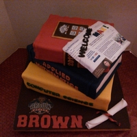 Stacked Book Cakes