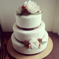 Rustic Winter Wedding Cake One Of My Faves I Have Done   Rustic Winter Wedding Cake. One of my faves I have done!
