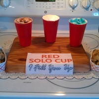 Red Solo Cup Party At Green Gables Made this one for a red solo cup party at Green Gables ..... the best cheeseburgers in the world !!!!