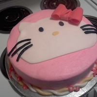 Hello Kitty Birthday Cake Cake and Eat its - First Birthday Cake Debut. Honest feedback is really appreciated. White Cake w/ Buttercream Icing. Hello Kitty themed...