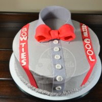 "Dr Who Bow Ties Are Cool Cake   Dr Who ""Bow Ties are Cool"" Cake."