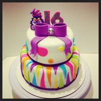 16Th Birthday Cake With A Touch Of Cheshire The Cake Please Visit My Facebook Page Wwwfacebookcomjessweetcakes   16th birthday cake with a touch of Cheshire the cakeplease visit my facebook page www.facebook.com/jessweetcakes