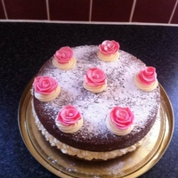 Chocolate, Buttercream & Roses Nice bit of sunday baking :)