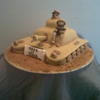 Army Tank Requested for yet another brave boy going to serve our country and keep it safe. Made with pride.