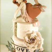 Pin Up Vintage Cake *MY PIN UP VINTAGE CAKE