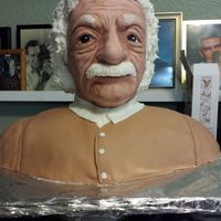 Albert Einstein My grandson wants to be a scientist when he grows up. So his birthday theme was Science and he asked me for an Albert Einstein cake. This...