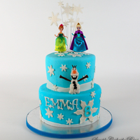 Frozen Themed Cake   Frozen themed cake.