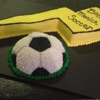 Soccer Themed Cake *
