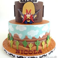 Yosemite Sam My Dad's birthday was coming up and I was trying to figure out the theme for his birthday cake, I had some ideas but none of them...