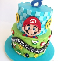 Mario Kart 8 Icing Smiles, Inc. contacted me a few weeks ago with the request of a cake for a sweet boy, Bryceon! I'd said yes, of course, I was...