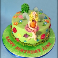 Fairy Cake   Chocolate Cake for 7 years old who loves fairies!
