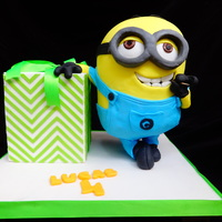 Despicable Me -Minion 3D Cake-