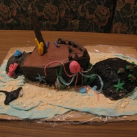 Shipwreck One of my first cakes :-)