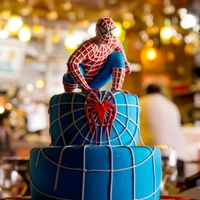 Spiderman Cake For Kids