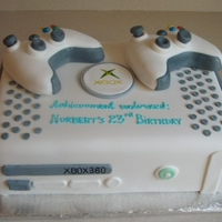 Xbox 360 Custom Cake For Him Xbox 360 custom cake for that special guy.