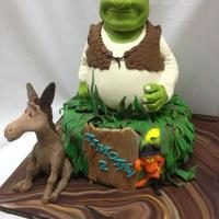 Custom Birthday Cakes For Kids - Brooklyn Ny Shrek themed custom cake