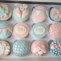 Baby Shower Cupcakes Boy or Girl? Baby shower cupcakes