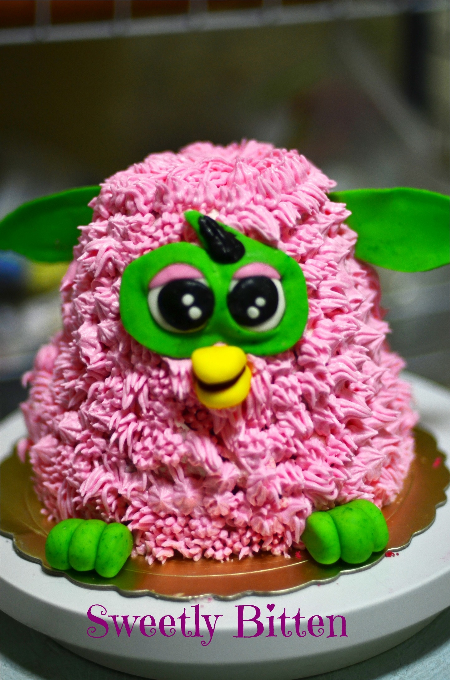 Just Because Cakes My first 3D rendition of a furby cake.