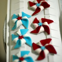 Gumpaste Cupcake Toppers cupcake toppers for fourth of july