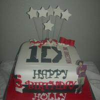 One Direction Theme Cake Friend Showed Me A Pic Of A Cake She Originally Wanted Duplicated From A Location I Believe She Said In The Uksor... One Direction theme cake. Friend showed me a pic of a cake she originally wanted duplicated from a location I believe she said in the UK(...