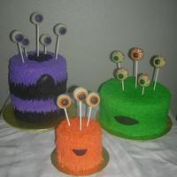 Fun Monster Theme Cakes Fun Monster theme cakes