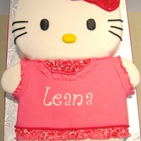 Hello Kitty All fondant decoration