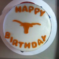 Texas Sports Fan Bday Cake
