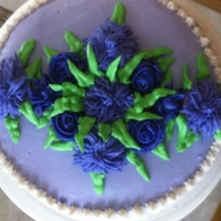 Mom's Birthday Cake Purple is my favorite color