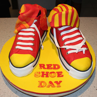 Ronald Mcdonald Charity Perth Converse Chuck Taylor All Stars Made for Red Shoe Society to celebrate their 1st year for the Ronald McDonald House here in Perth.