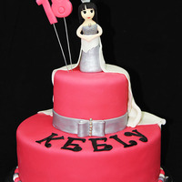 Hot Pink 18Th Princess Birthday Cake Hot Pink 18th Princess Birthday Cake