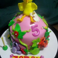 5Th Month Cake For Zarah