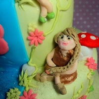 Pixie Hollow Tink Cake