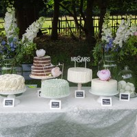 Vintage Wedding Cake Table