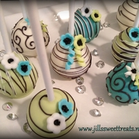 Elegant Cake Pops These Cake pops remind me of an elegant affair to remember. Great for a wedding favor or an anniversary centerpiece. Also great to just...