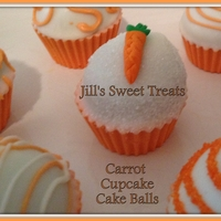 Carrot Cupcake Cake Bites These clever little cake bites are all edible. It has the look of a cupcake but the liner is actually an edible chocolate shell!!! So...