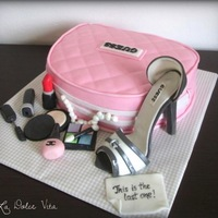 Surprise Cake For Bachelorette Party