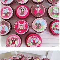 Sweet Owls Cupcakes