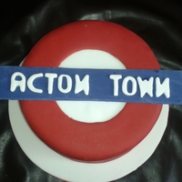 London Underground i was asked to design a cake to have something to do with trains but only had 1 day to do it in so i thought go with the london underground...