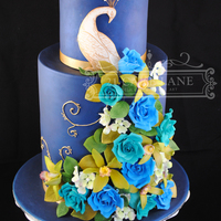 Made During A Planet Cake Course Triple Barrel Base Tier 15 Barrel Top Tier Handmade Roses Orchids Amp Hydrangea Made during a Planet Cake Course. Triple Barrel Base tier, 1.5 barrel top tier.Handmade roses, orchids & hydrangea.