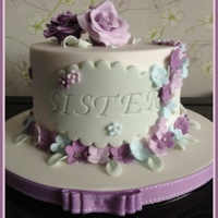 Lilac's And Blue's Birthday Cake