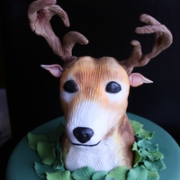 Deer Cake Such a fun cake to make for a hunter's birthday!!
