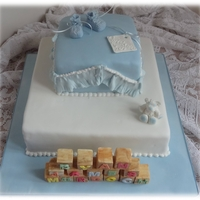 Christening Cake For Ryan
