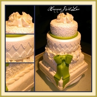 Green Bow Wedding