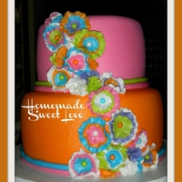 Girly Multicolor Cake