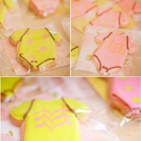 Cute Lil' Onesie Shortbread Cookies