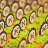 University Of Hawaii Warriors Cupcakes