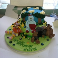My First Cake childrens character cake