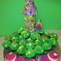 Tangled - Rapunzel Tangled - RapunzelTower is made of Rice Crispy Treats.