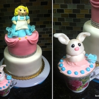 Alice In Wonderland   1st birthday- Alice in Wonderland theme